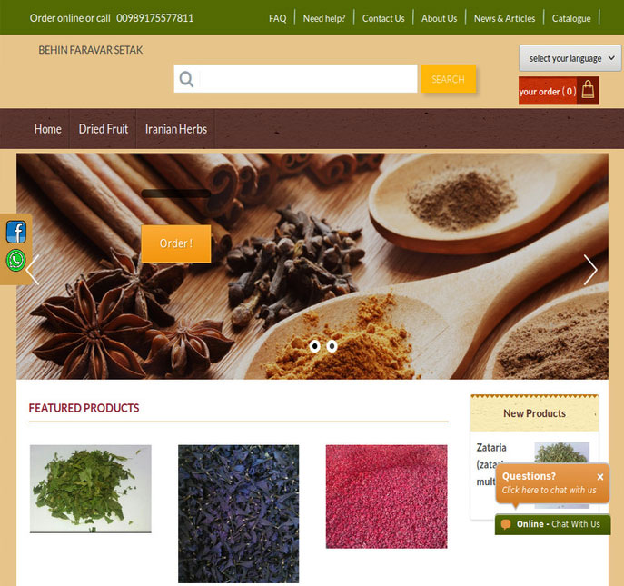 sell and export  herbs