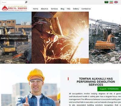 Building Demolition in dubai