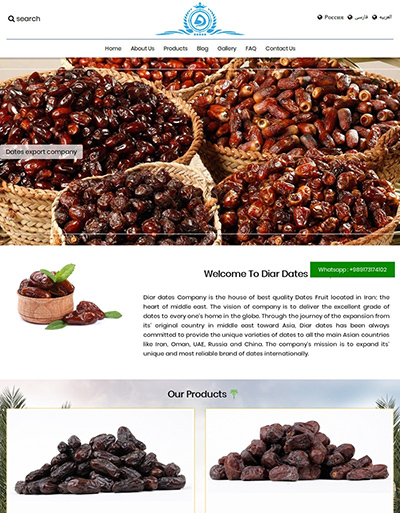 dates export company